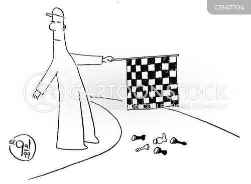 chequers cartoon