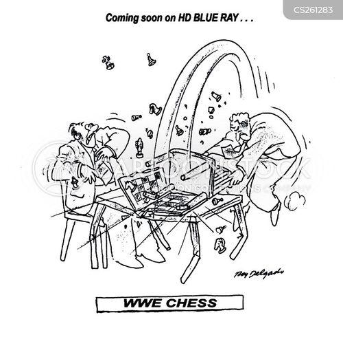wrestling matches cartoon