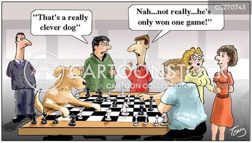 well trained cartoon