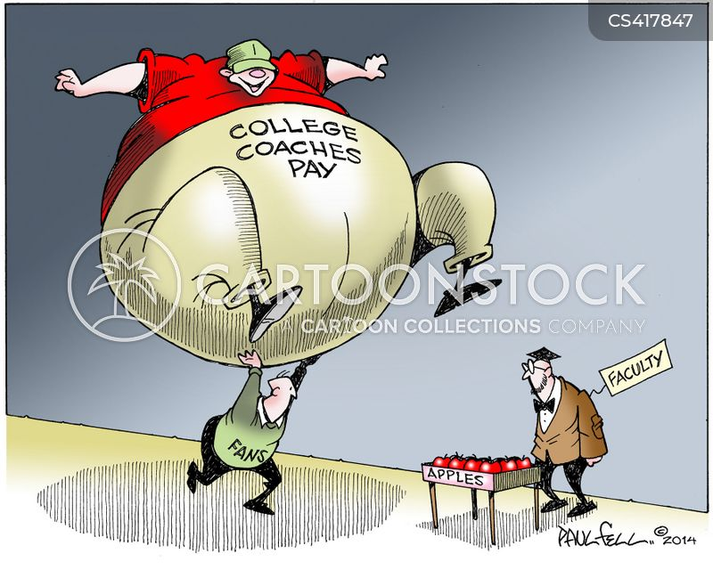 national collegiate athletic association cartoon