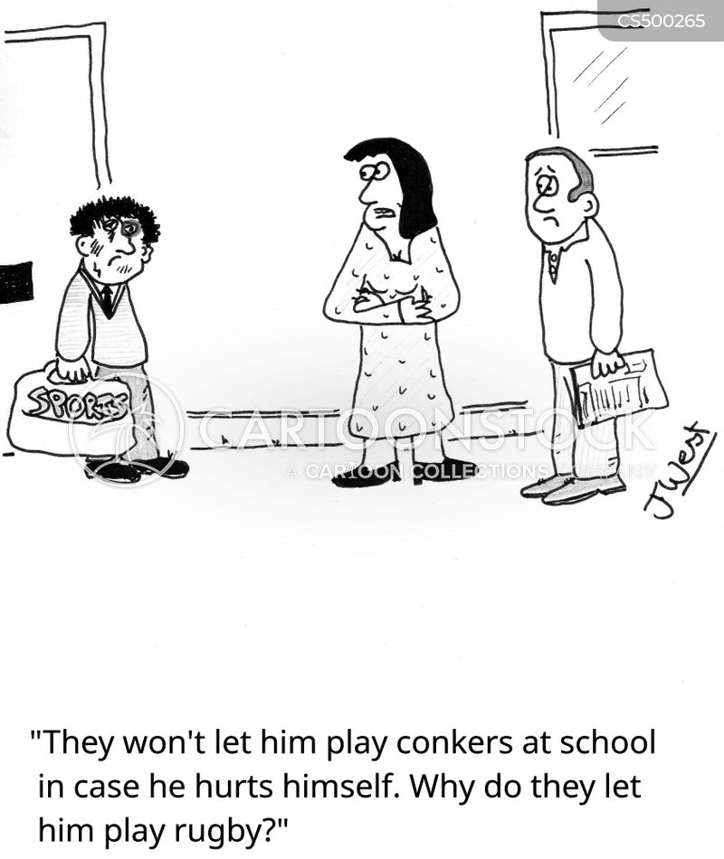school sport cartoon