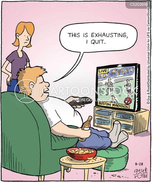 slobbery cartoon