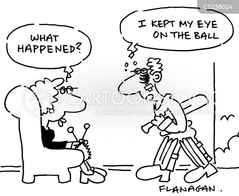 cricket balls cartoon