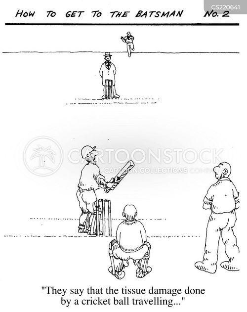 cricket ball cartoon