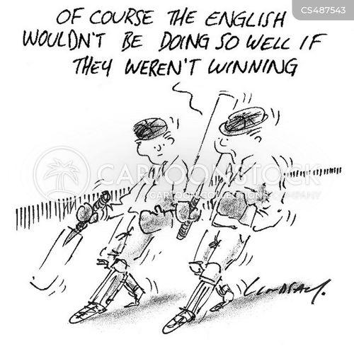 english cricket team cartoon