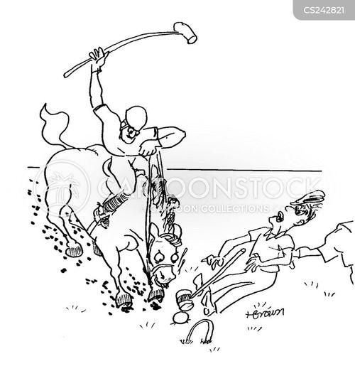 british sports cartoon