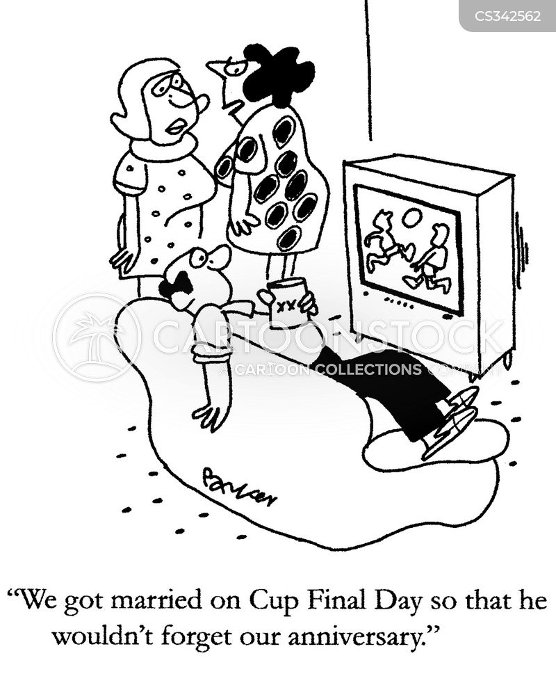 fa cup cartoon
