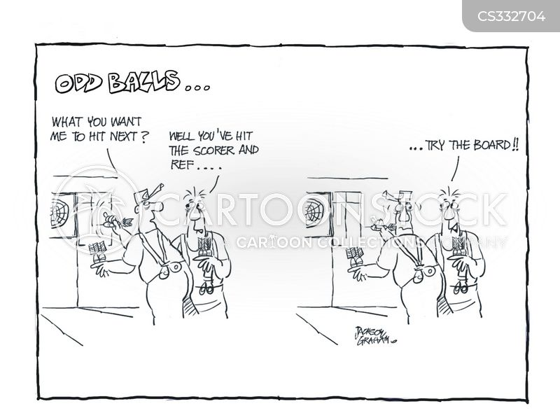 scorer cartoon