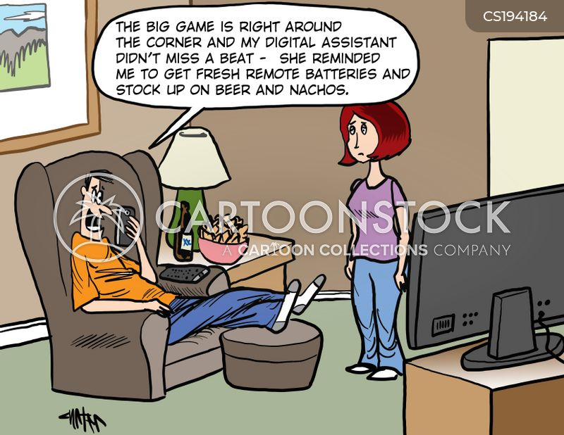 big game cartoon