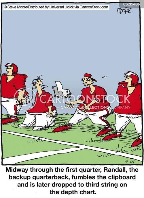 quarterback cartoon
