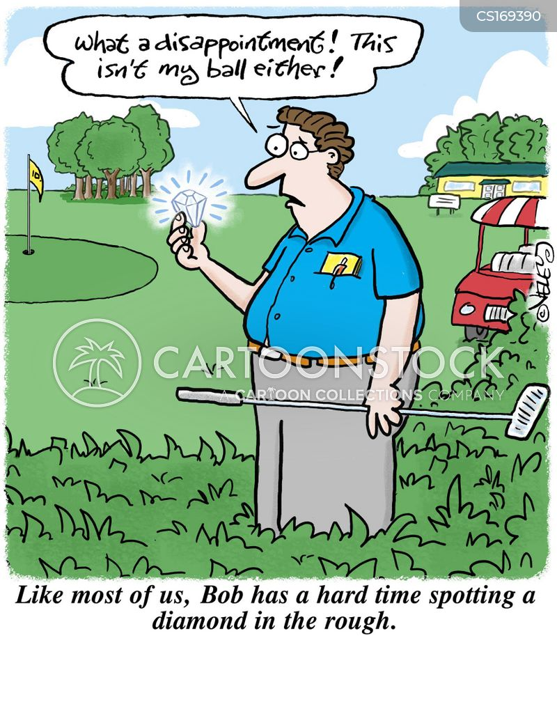 golf games cartoon