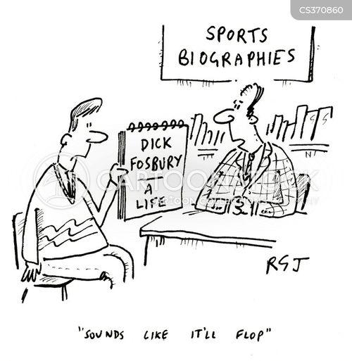 dick fosbury cartoon