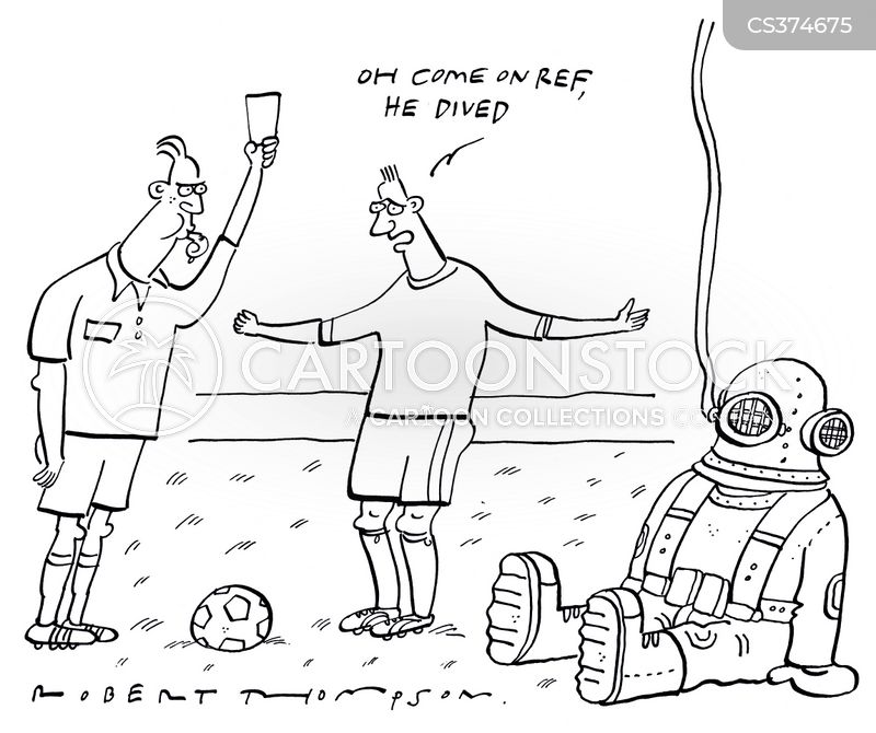 dived cartoon