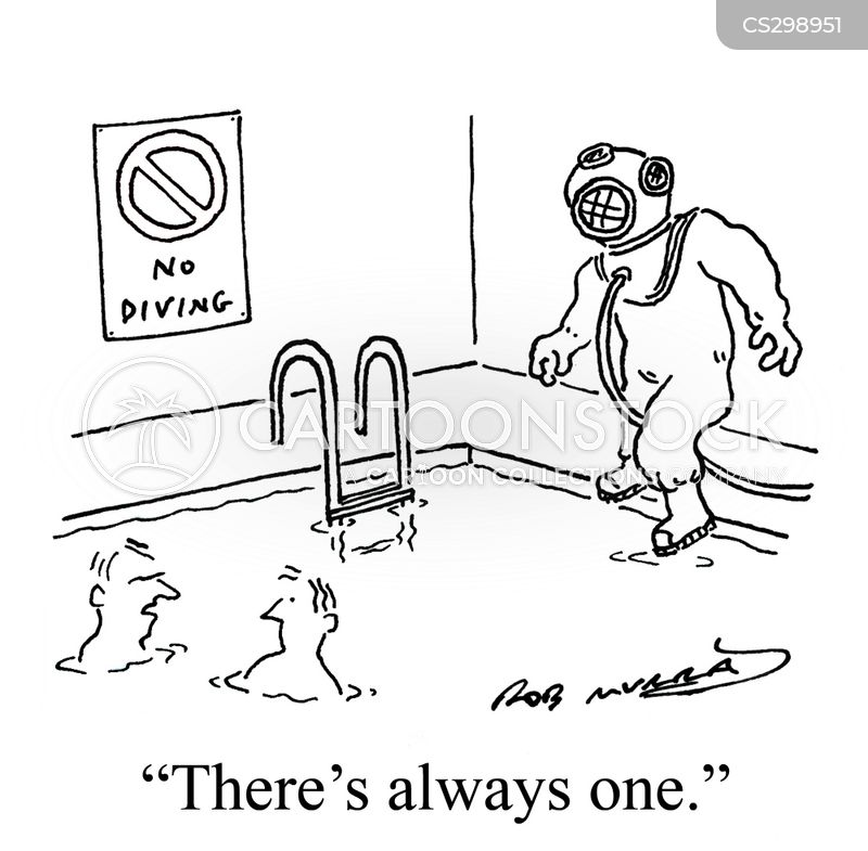 leisure centre cartoon