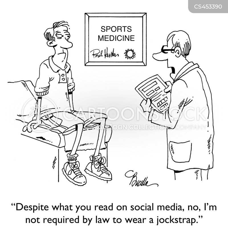 Sport Medicine Cartoons and Comics - funny pictures from CartoonStock