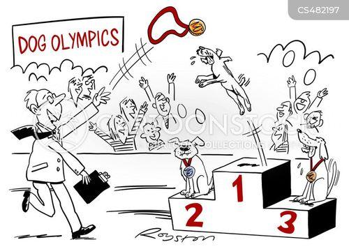 podium finish cartoon