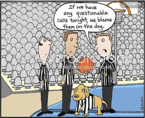 fouling cartoon