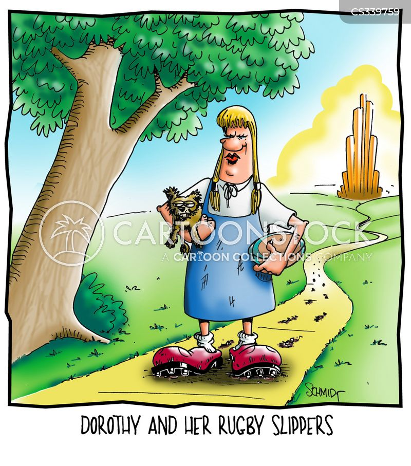 rugby boots cartoon