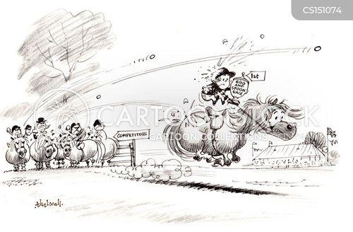 little fat ponies cartoon