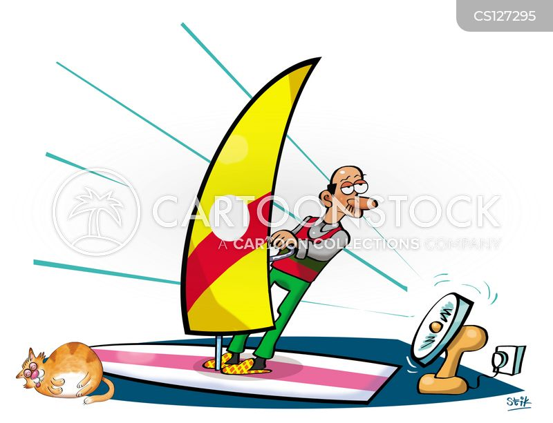 Windsurfer Cartoons and Comics - funny pictures from