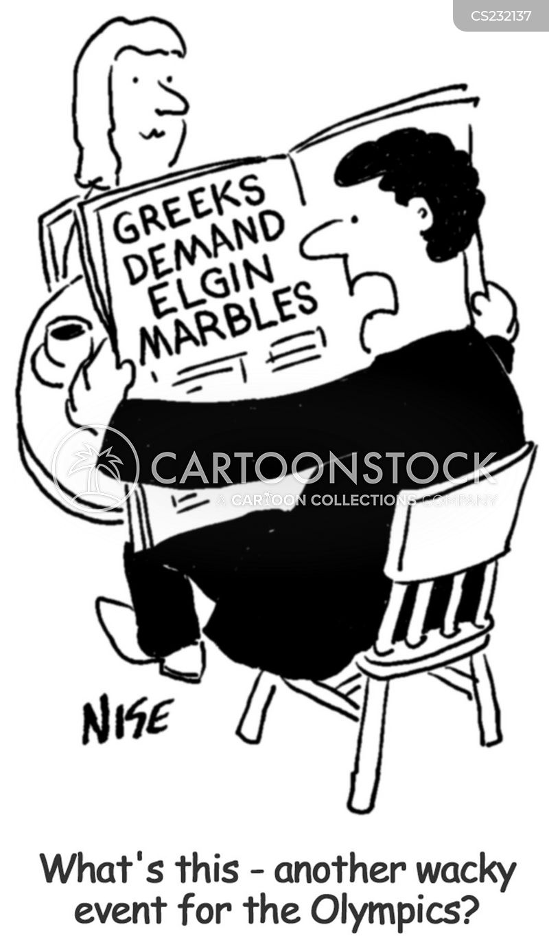 marbles cartoon