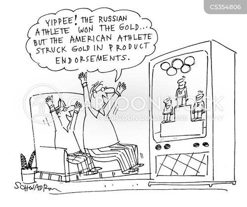 golds cartoon