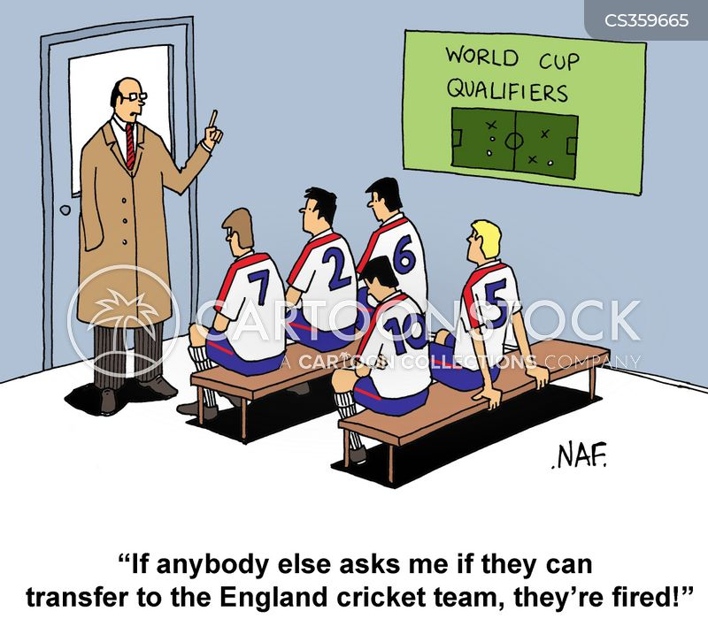 winning teams cartoon