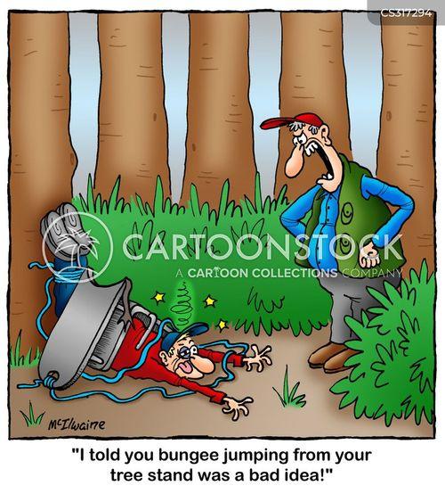 hunting equipment cartoon