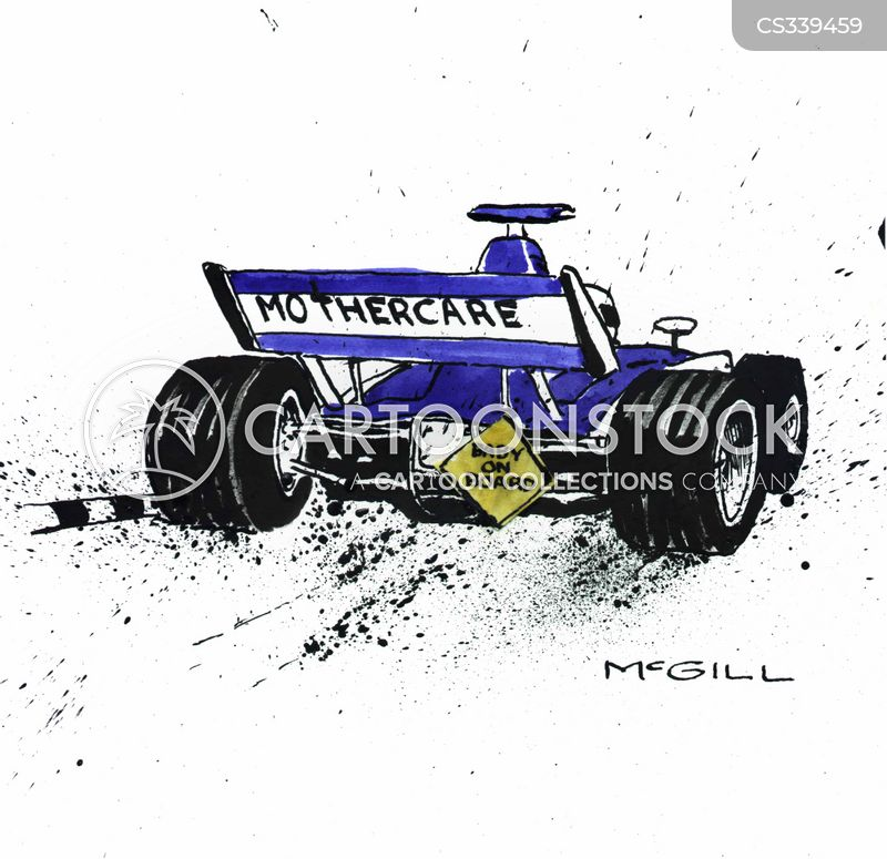f1 cartoon