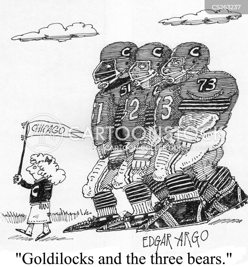 chicago bear cartoon