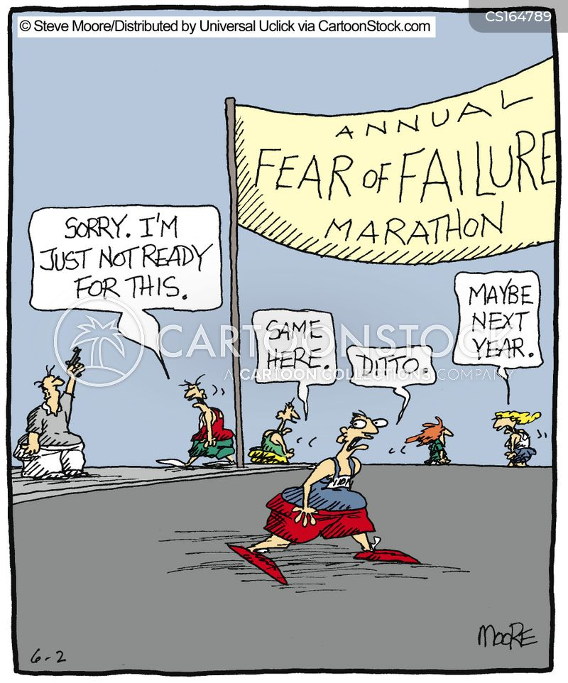 failure cartoon