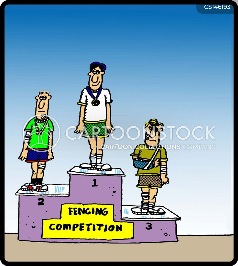 contact sport cartoon