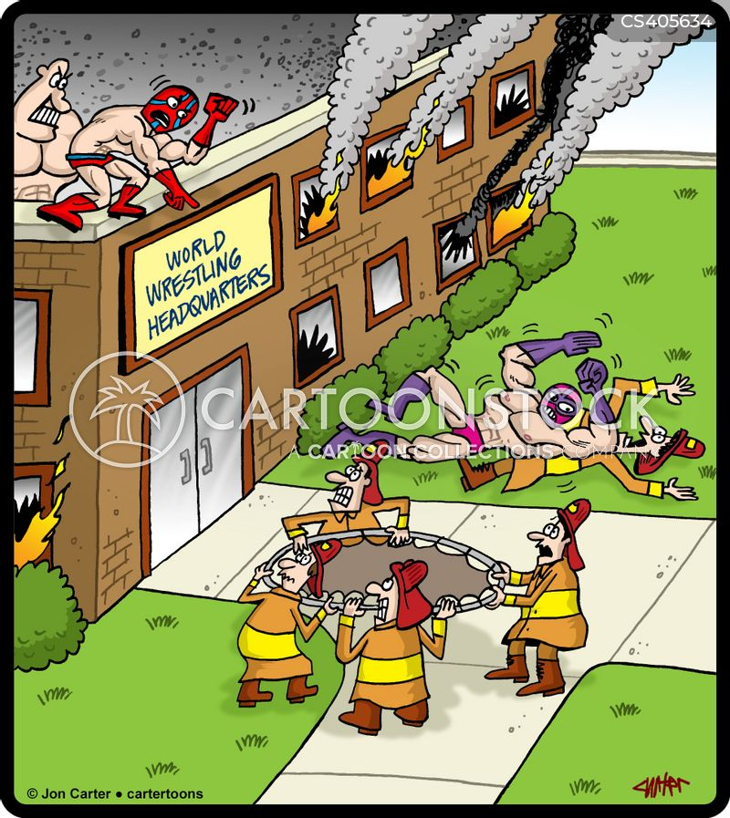fire-fighters cartoon