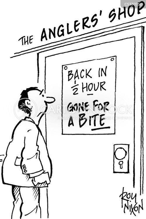 tackle shop cartoon