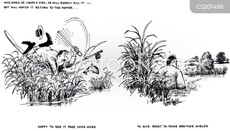 river bank cartoon