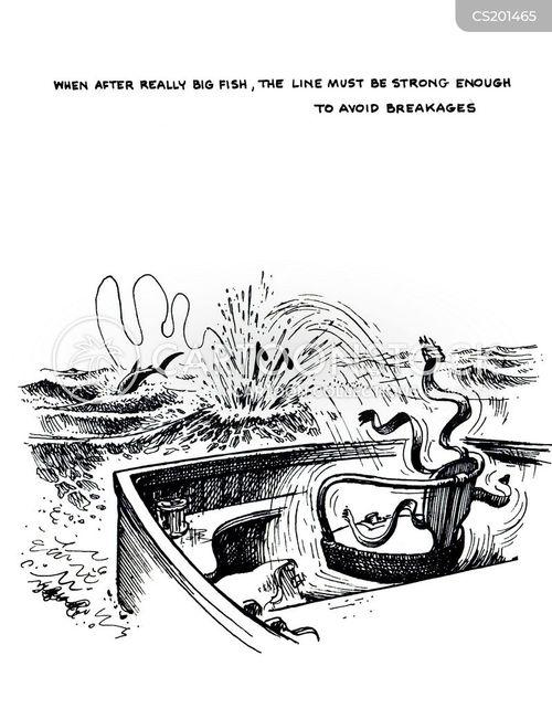 sea fishermen cartoon