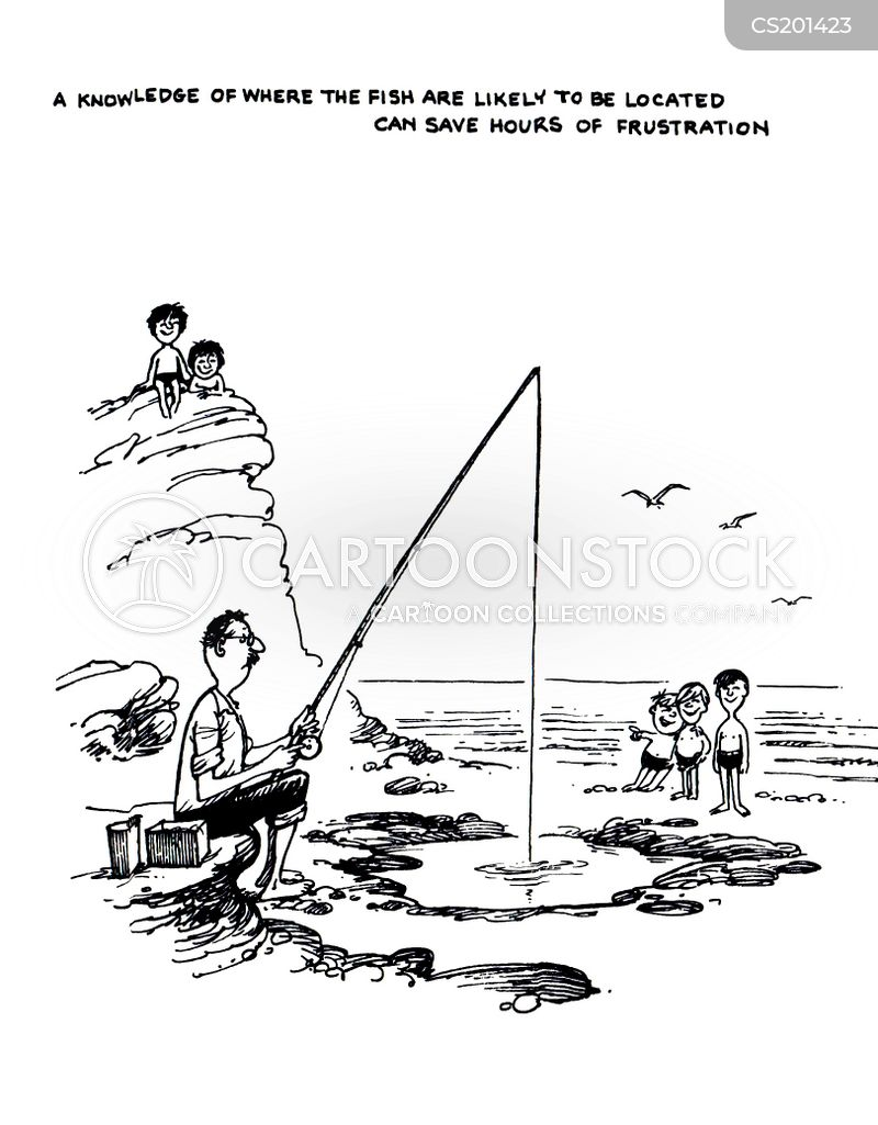 fishing tips cartoon