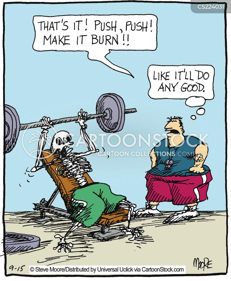 Funny Fitness Cartoons Fitness Instructors Ca...