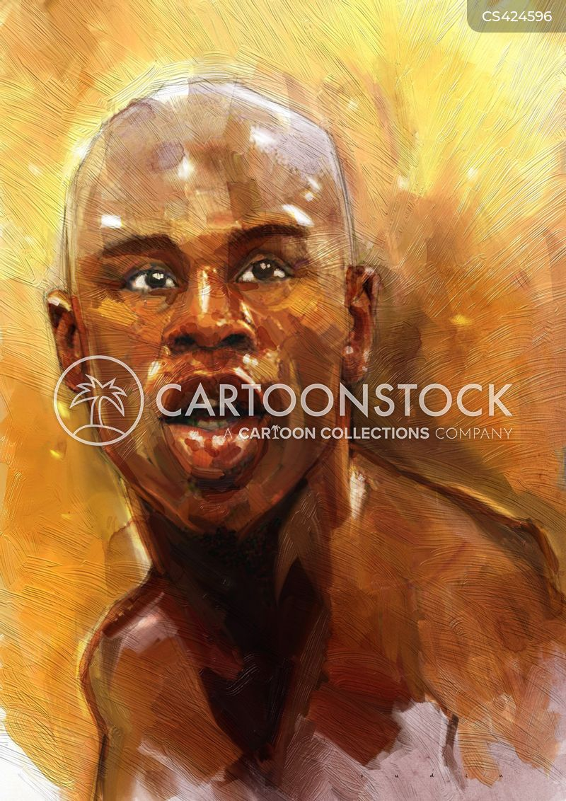 World Champions cartoon 10 of 10 - sport-floyd_mayweather-world_champions-boxers-boxing_match-sports_personality-sisn197_low
