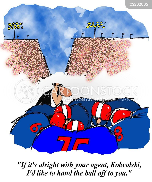 football stars cartoon