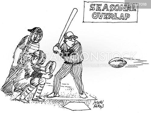 american footballs cartoon
