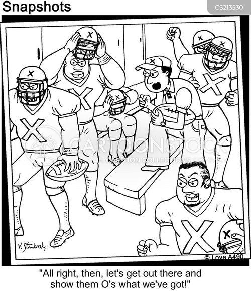 half time cartoon