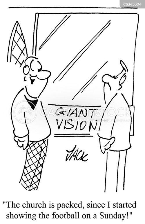 house of god cartoon