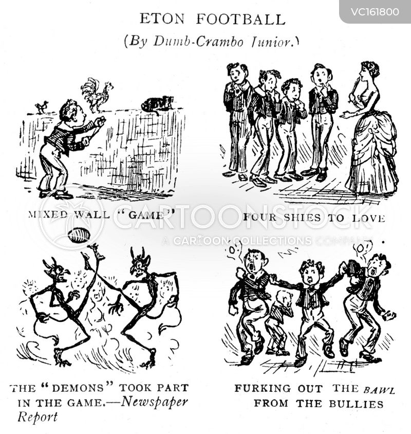 Eton Rules Football cartoons, Eton Rules Football cartoon, funny, Eton Rules Football picture, Eton Rules Football pictures, Eton Rules Football image, Eton Rules Football images, Eton Rules Football illustration, Eton Rules Football illustrations