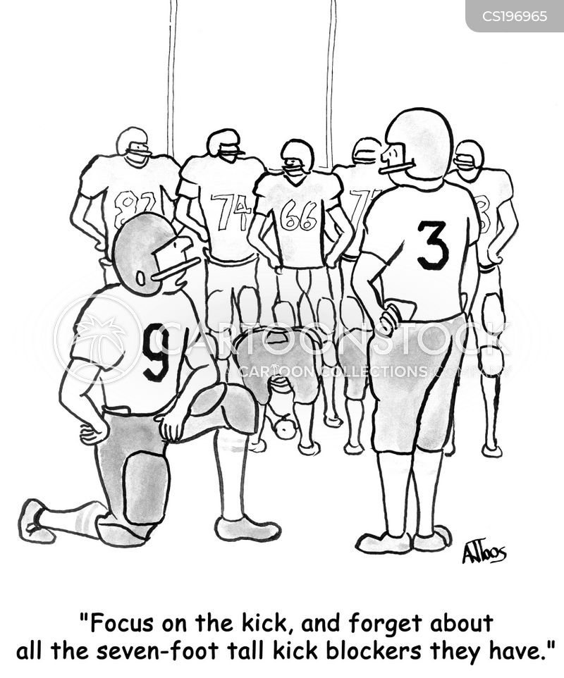kicker cartoon