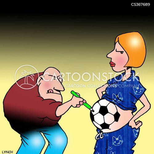 expectant father cartoon