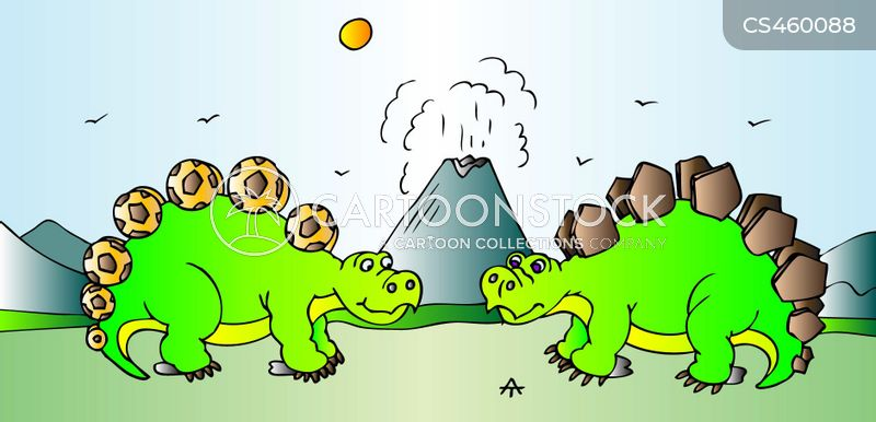 stegosauruses cartoons and comics funny pictures from cartoonstock