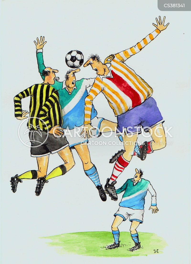soccer game cartoons and comics funny pictures from