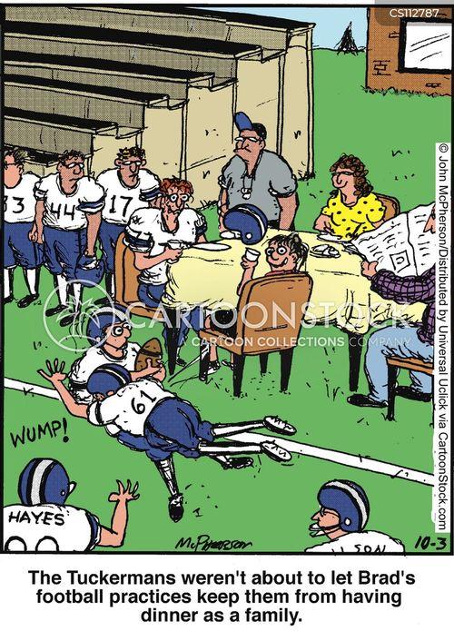 family times cartoon