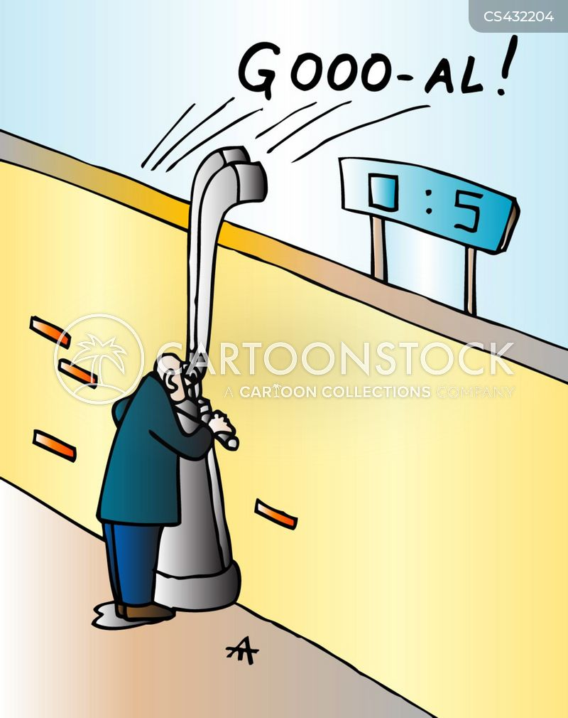 football stadium cartoon